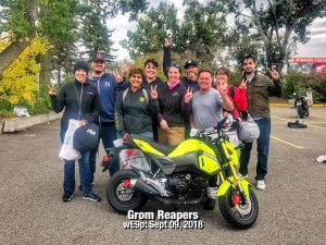 grom reapers motorcycle crew