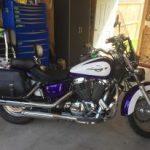 previous customer motorcycle